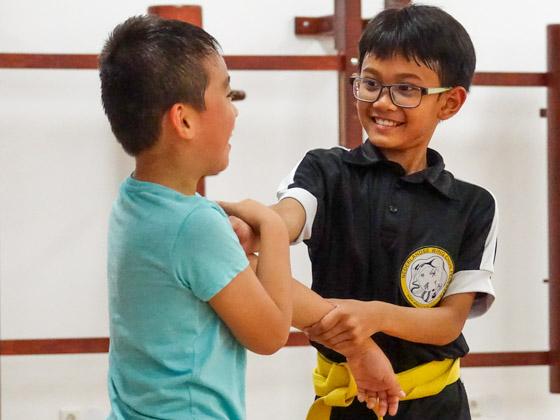 Wing Chun Kung Fu voor Kinderen in Amsterdam